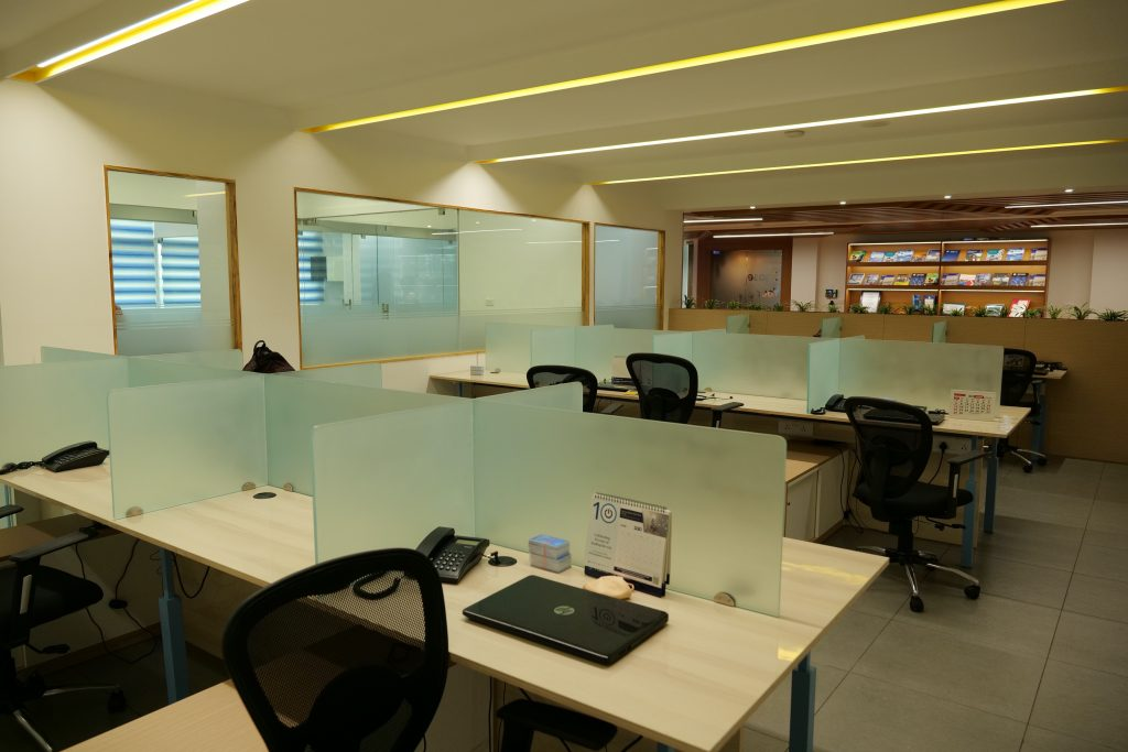 Our Office Space At The Muscat Tower In Kochi